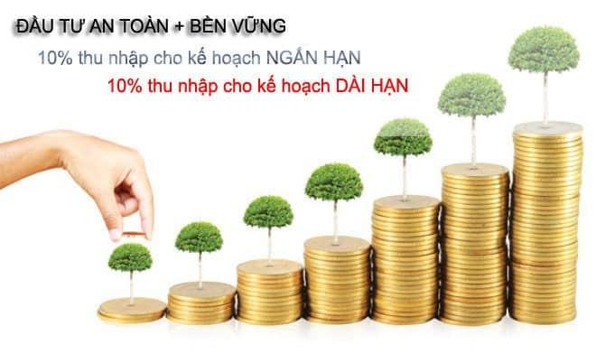 đầu tư sinh lời từ tiền tiết kiệm