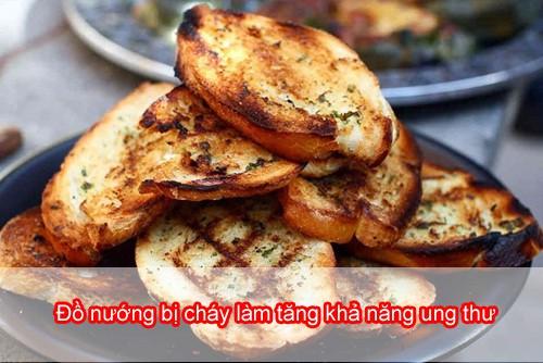 không ăn đồ nướng bị cháy