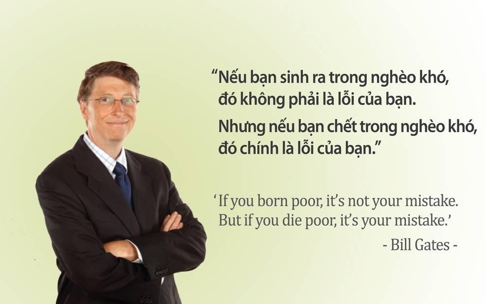 nếu bạn sinh ra trong nghèo khó